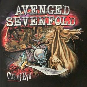 2005 Avenged Sevenfold City of Evil T-Shirt